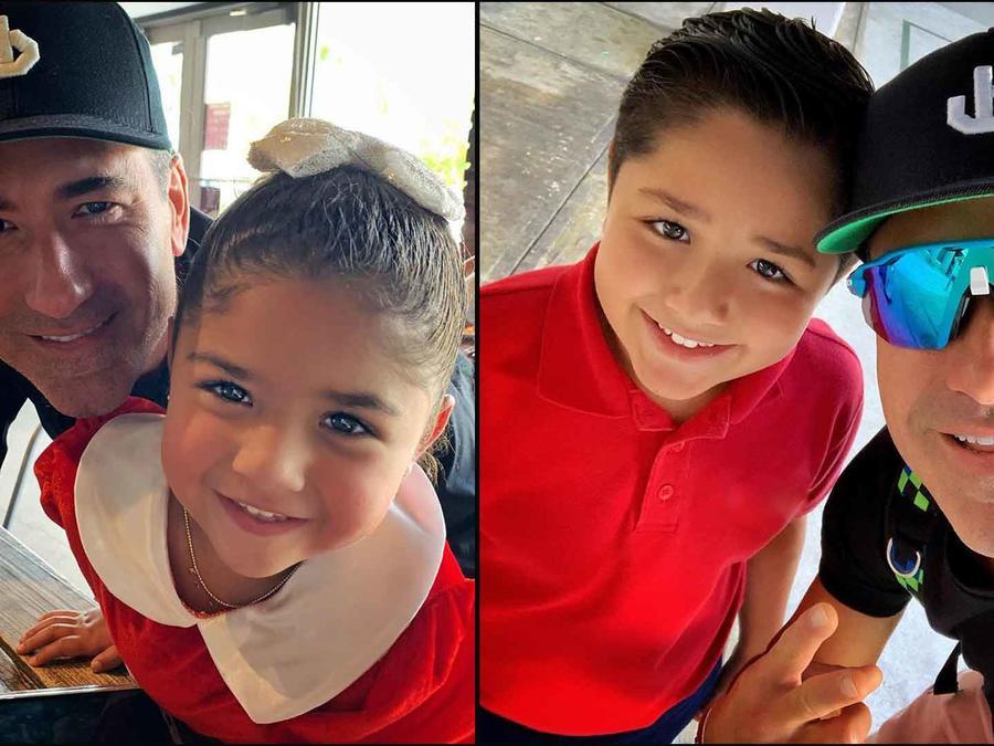 Jorge Bernal e hijos