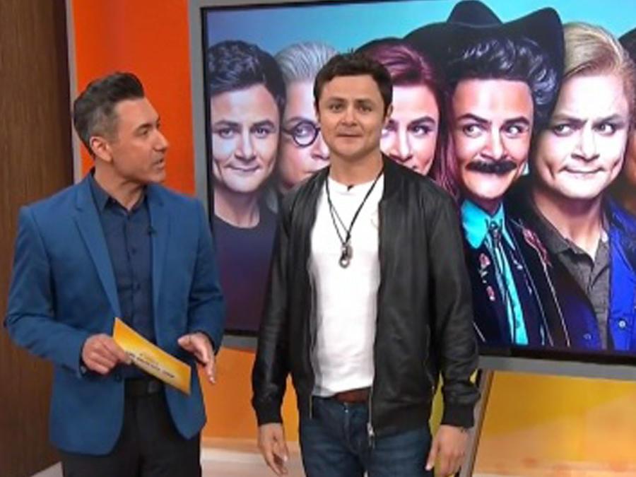 Arturo Castro estrena show en Comedy Central