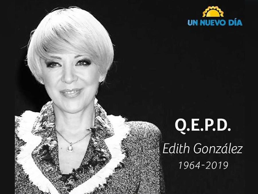 Edith González en Un Nuevo Día