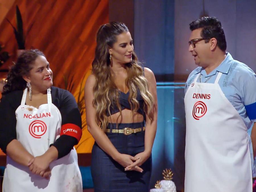 Noelián y Dennis fueron los mejores platos