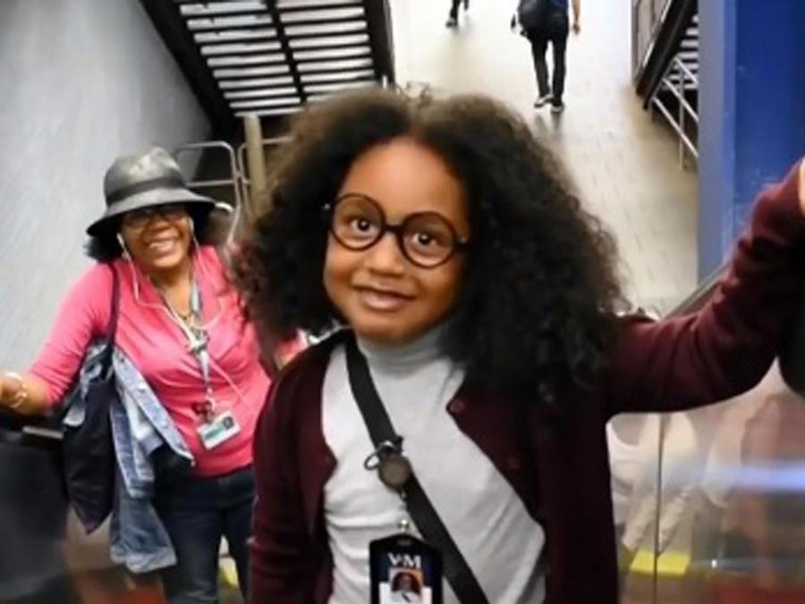 Niña dominicana, mini Betty en NY