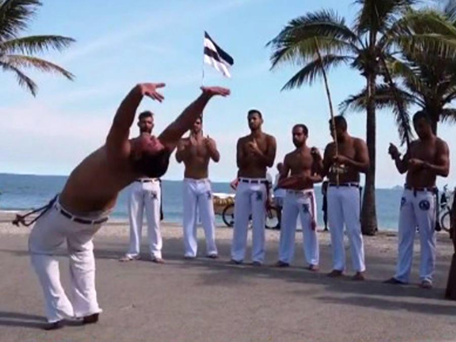 Capoeira, danza y artes marciales