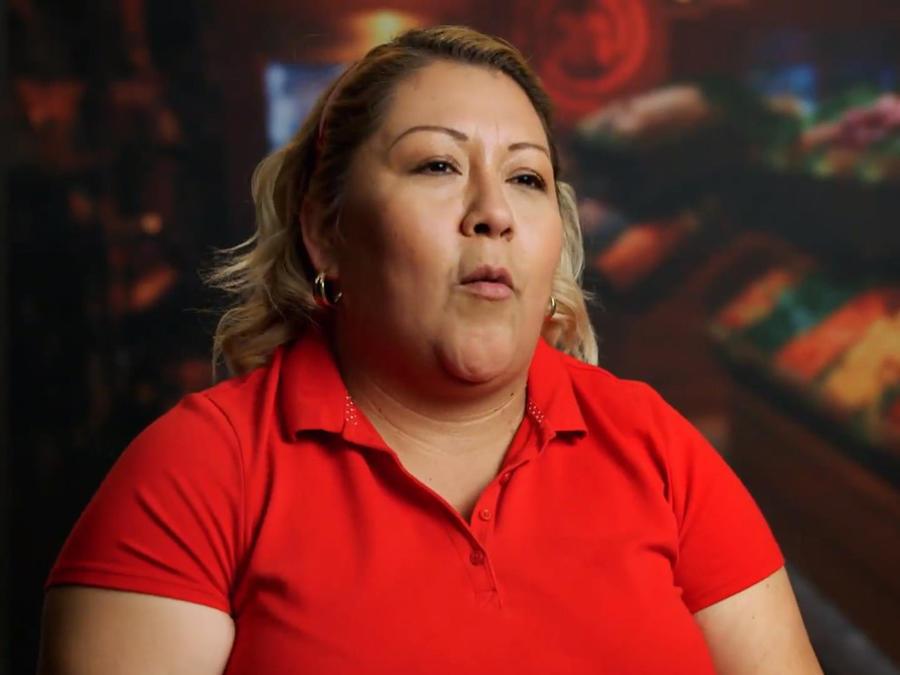 María Luisa Balbuena se molesta con Dennis Escalante en MasterChef Latino 2
