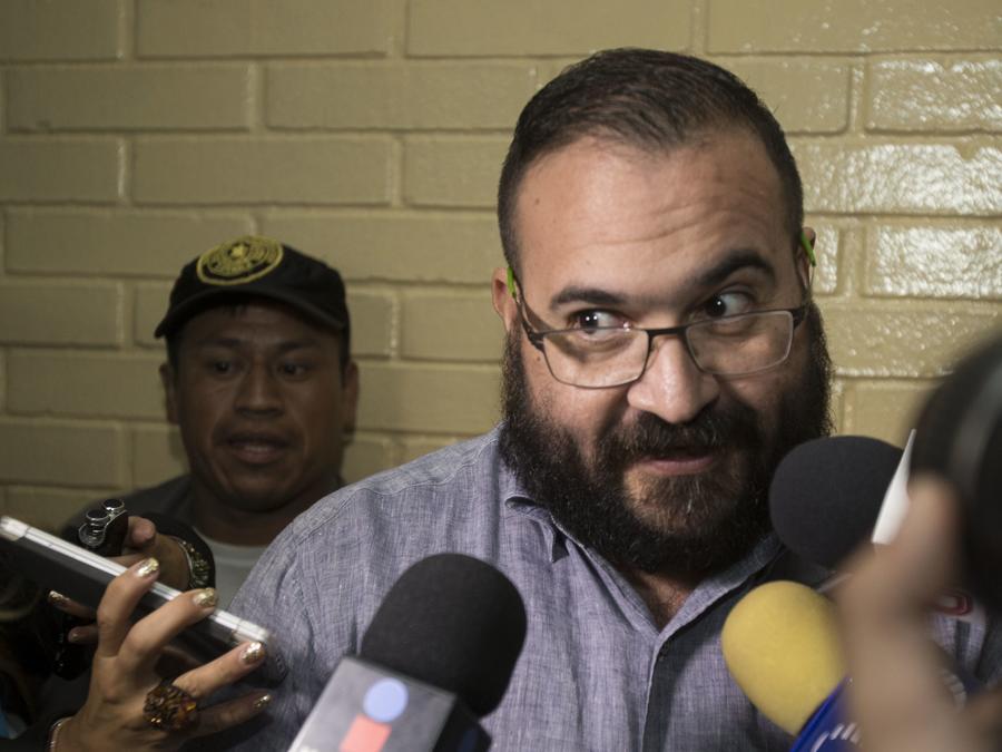 El exgobernador de Veracruz (México) Javier Duarte, acusado de corrupción