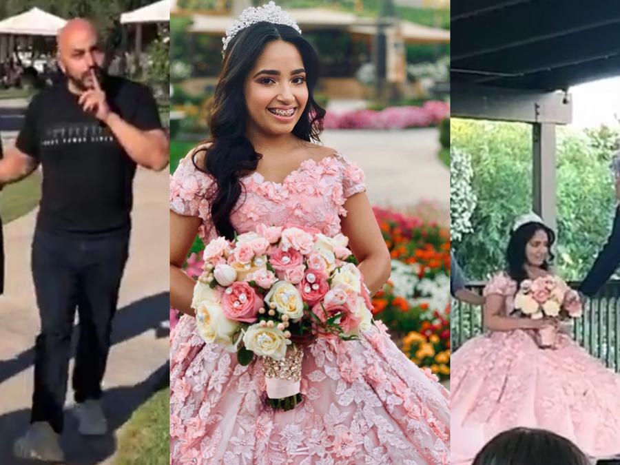 Lupillo Rivera celebra fiesta de quince sorpresa a su hija Lupita Karizma