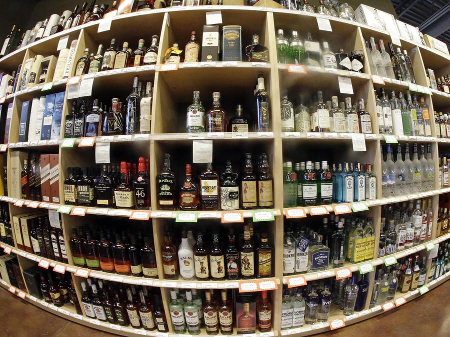 Bebidas alcóholicas.