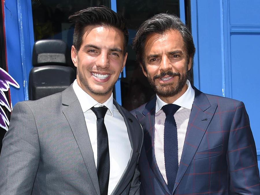Vadhir Derbez y Eugenio Derbez