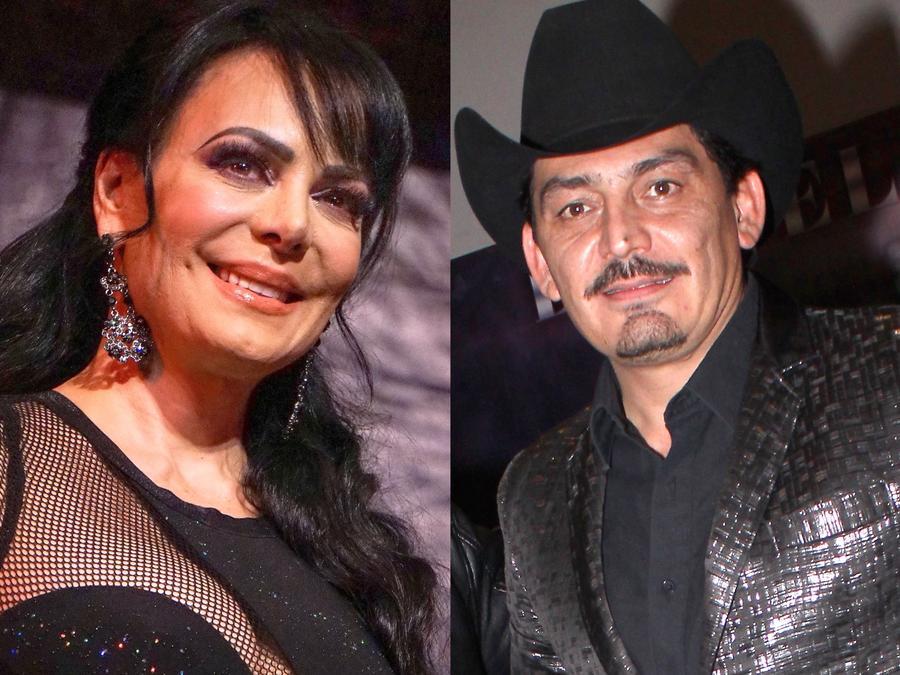 Maribel Guardia y José Manuel Figueroa