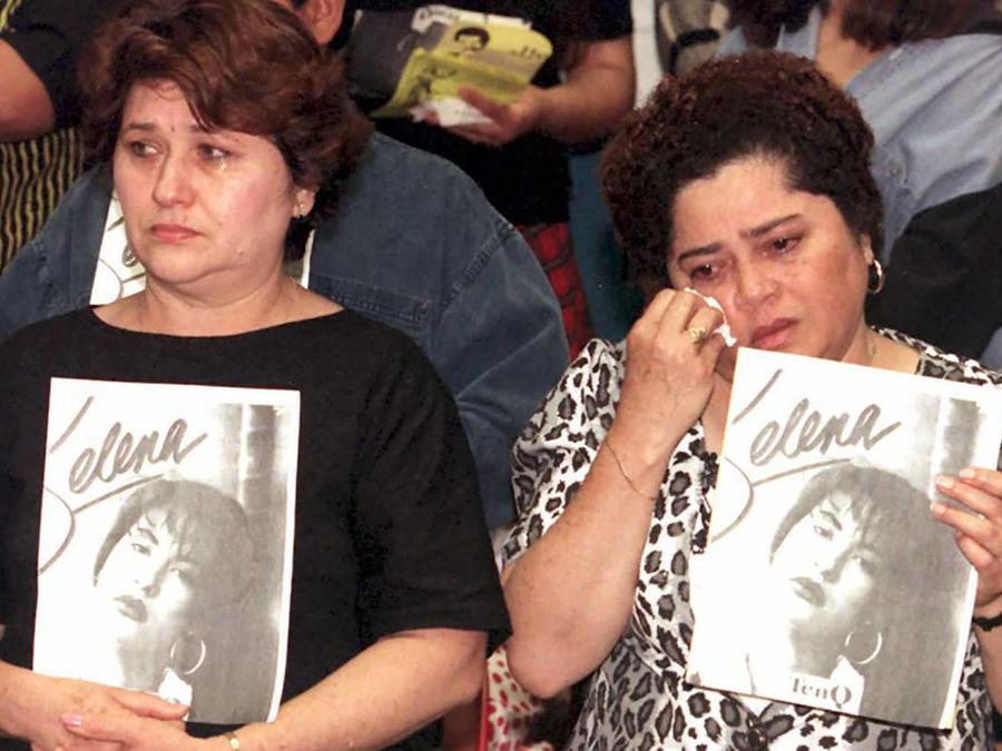 Selena Quintanilla funeral
