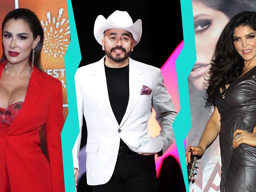Ninel Conde, Lupillo Rivera y Ana Bárbara