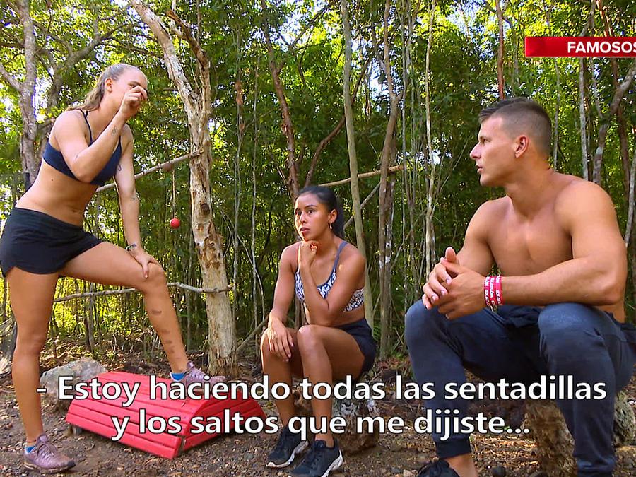 Mack, Shaila y Nicole hablan de entrenamiento