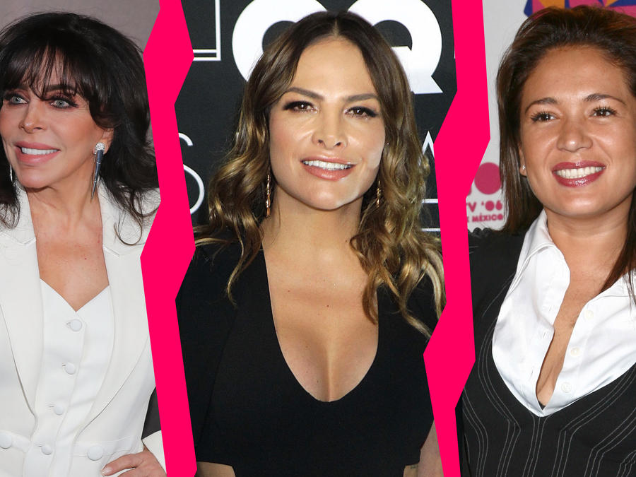 Verónica Castro, Fabiola Campomanes y Yolanda Andrade