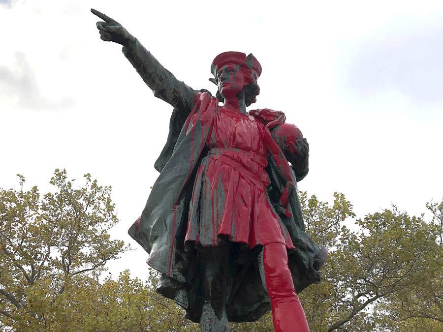 Estados Unidos rechaza cada vez más al conocido explorador, Cristóbal Colón