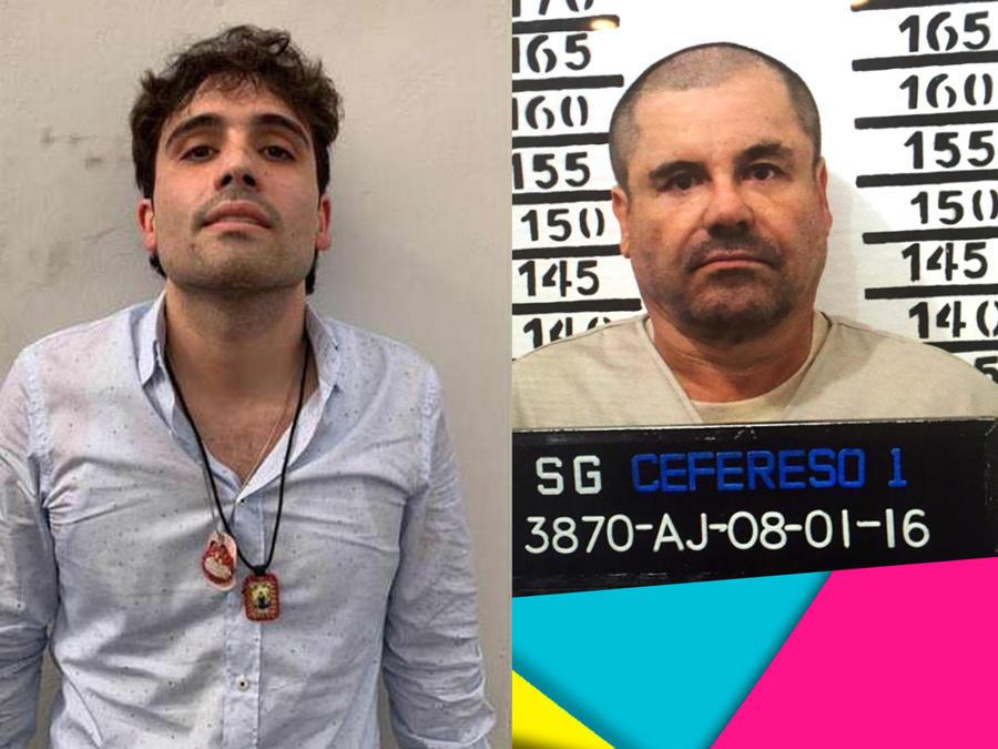 Ovidio Guzmán y El Chapo