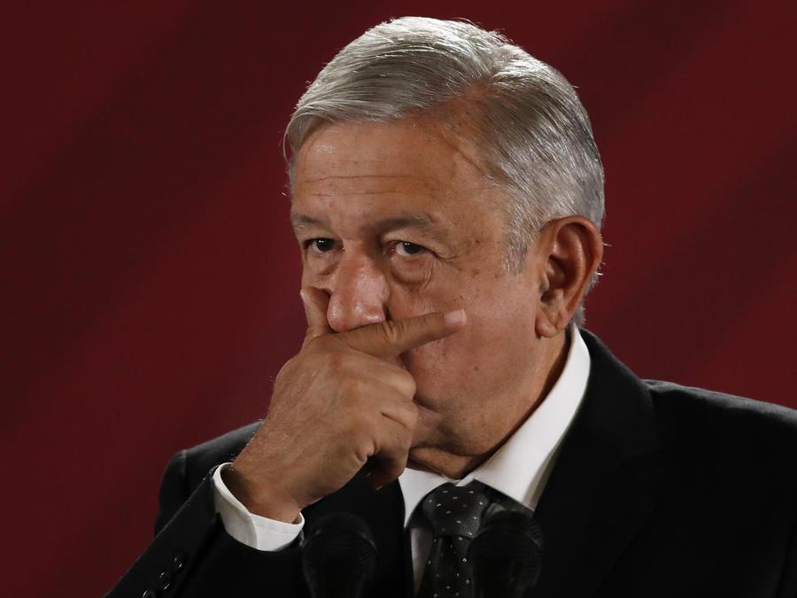 Mexican President Andres Manuel Lopez Obrador