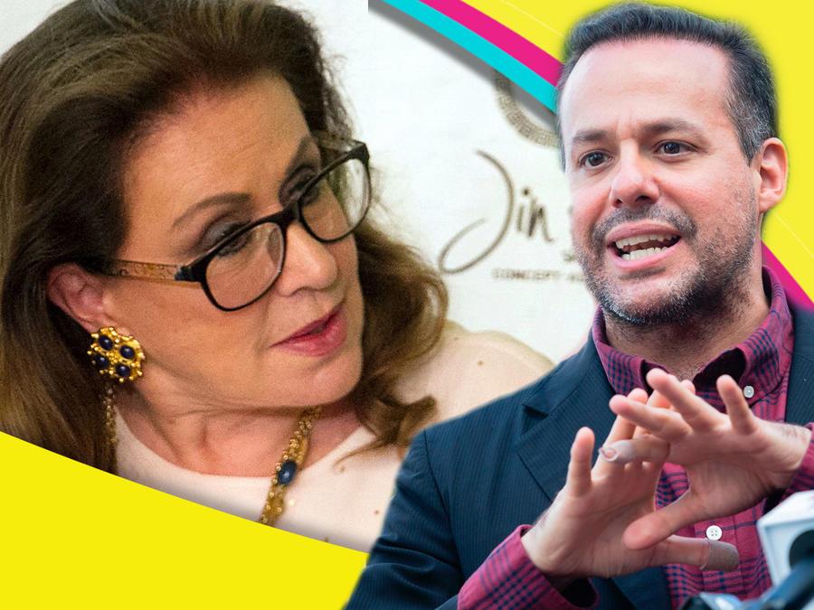 Laura Zapata y José Joel