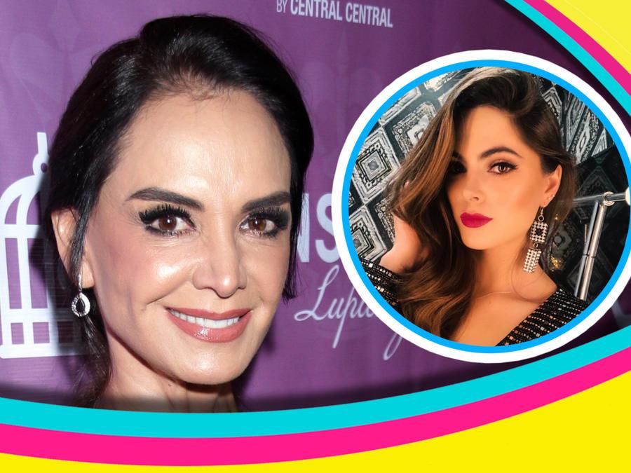 Lupita Jones y Sofía Aragón