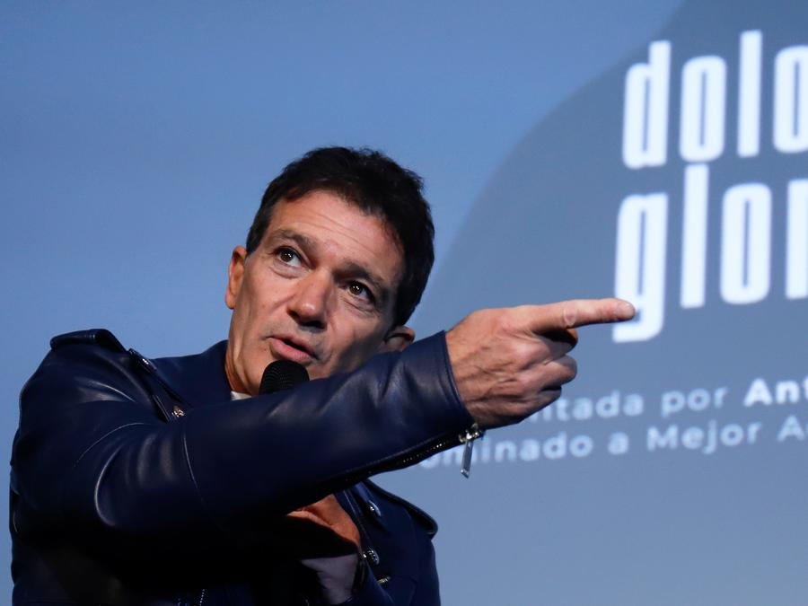 Antonio Banderas durante la presentación de la película Dolor y Gloria