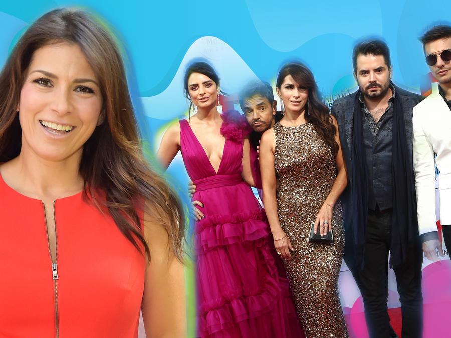 Alessandra Rosaldo, Aislinn, Eugenio, José Eduardo y Vadhir Derbez