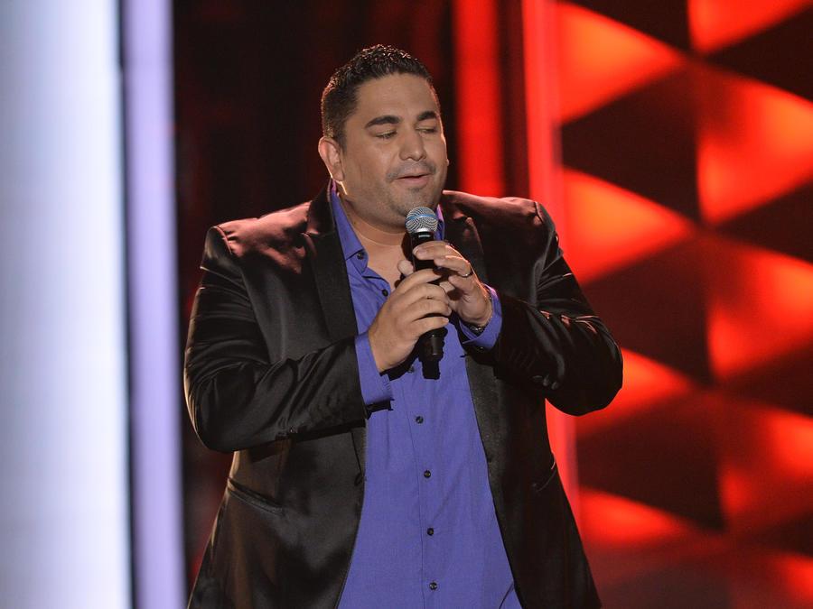 Arturo Guerrero en las audiciones a ciegas de La Voz US 2