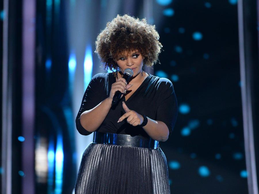 Ninfa Molina en las audiciones a ciegas de La Voz US 2