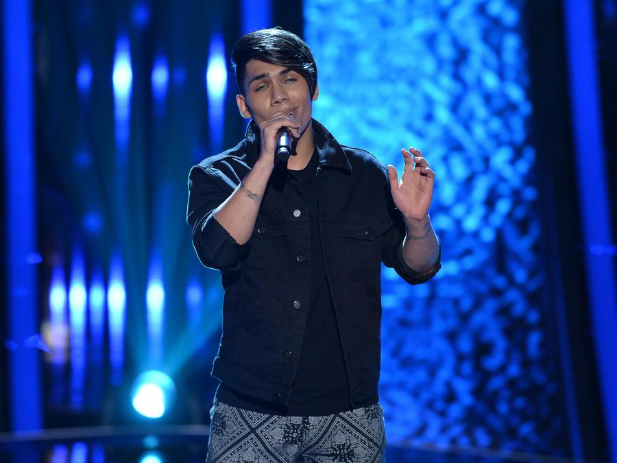 Ericson Gonzalez en las audiciones a ciegas de La Voz US 2