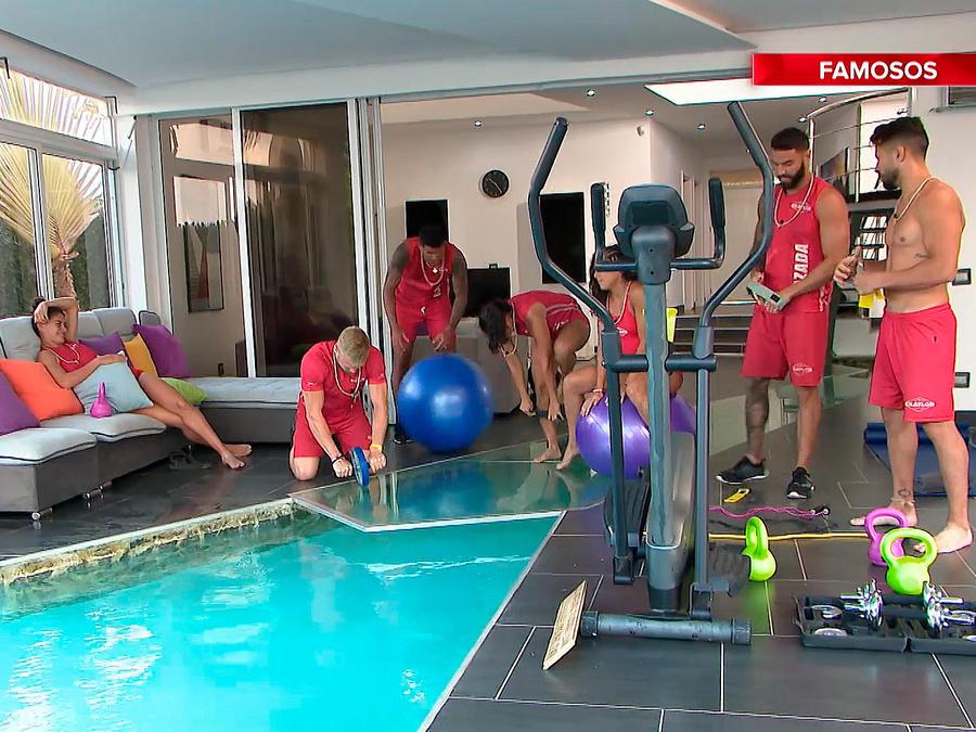 Famosos estrenan gimnasio en la Fortaleza