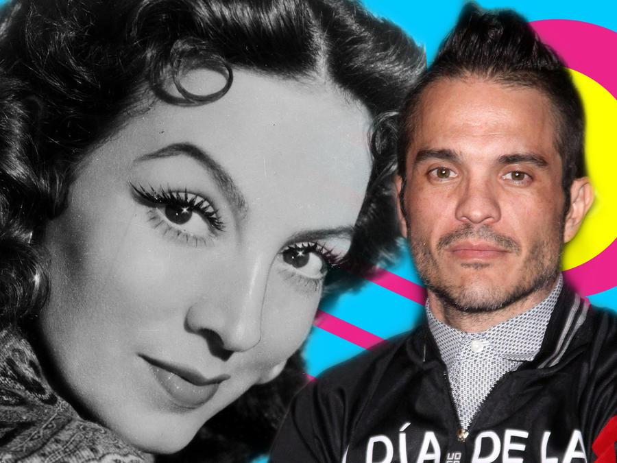 María Félix y Kuno Becker
