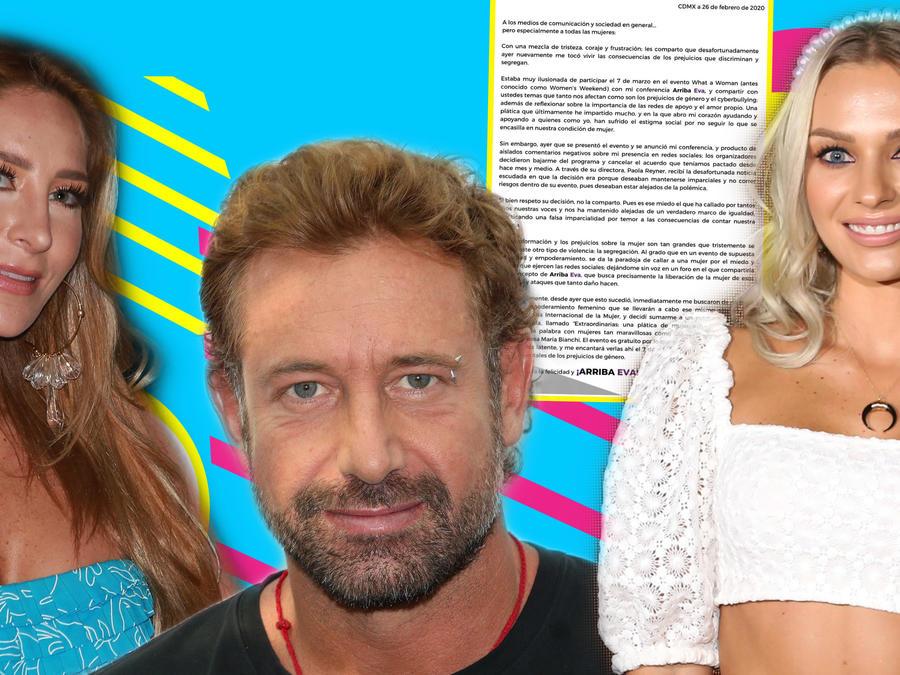 Geraldine Bazán, Gabriel Soto e Irina Baeva