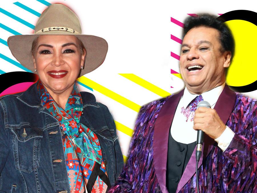 Aida Cuevas y Juan Gabriel