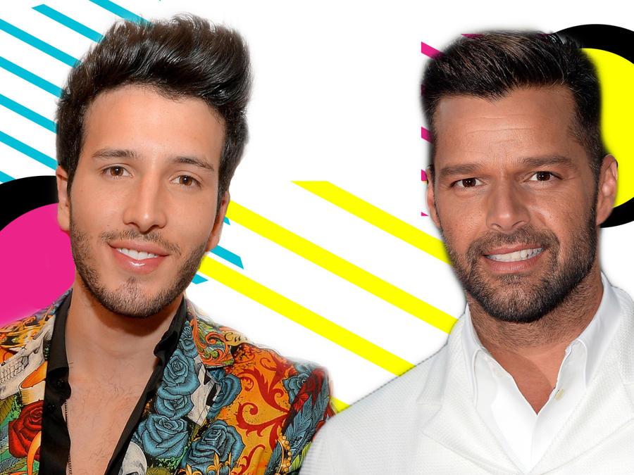 Sebastián Yatra y Ricky Martin