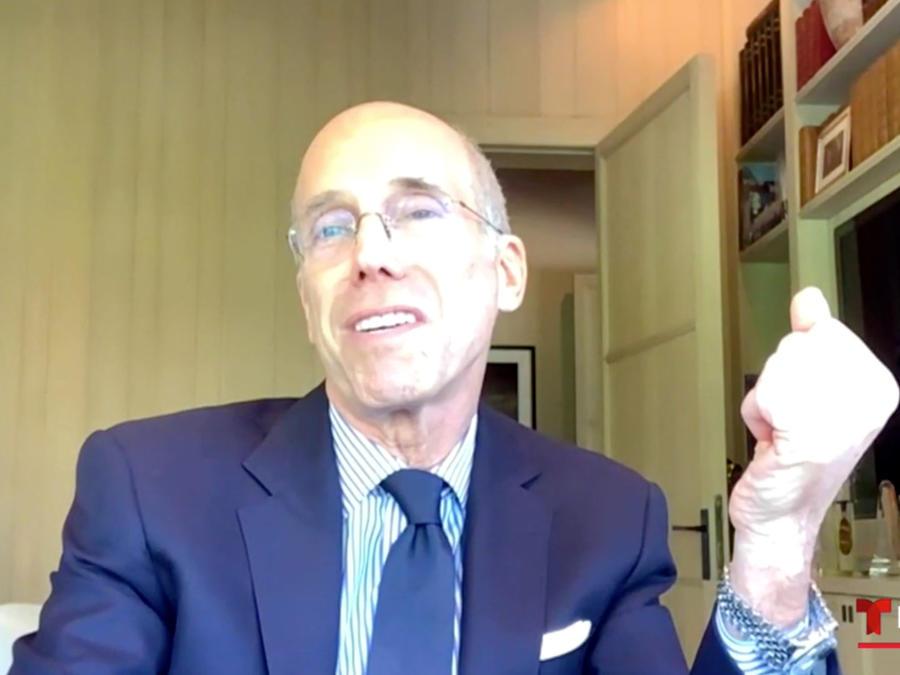 Jeffrey Katzenberg, fundador y presidente de Quibi