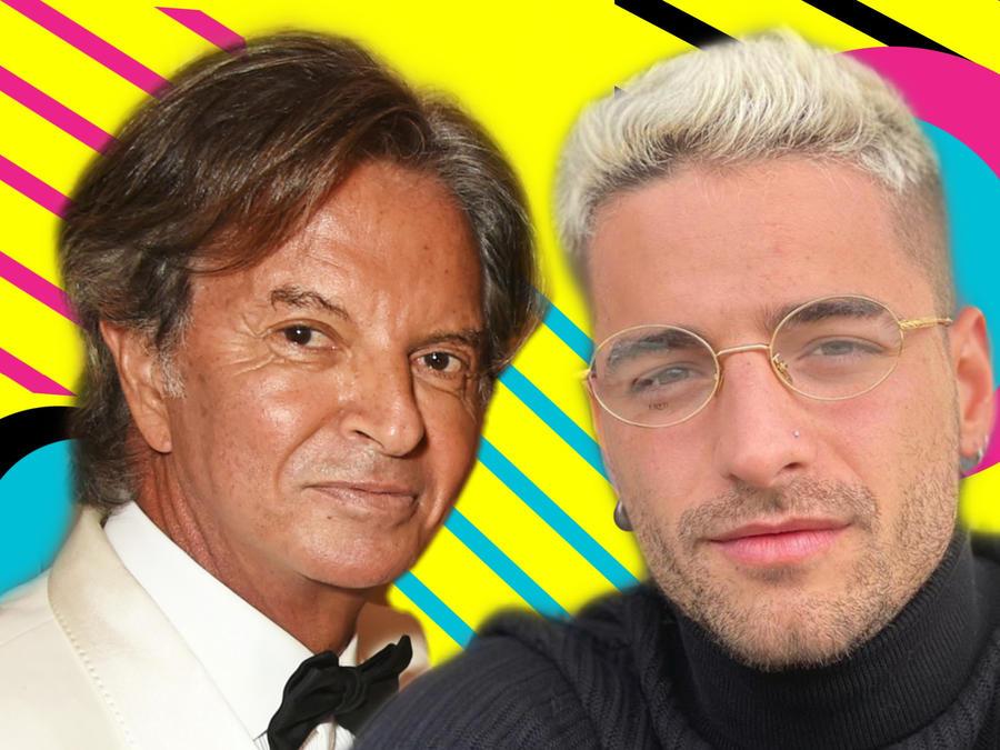 Richard Caring y Maluma
