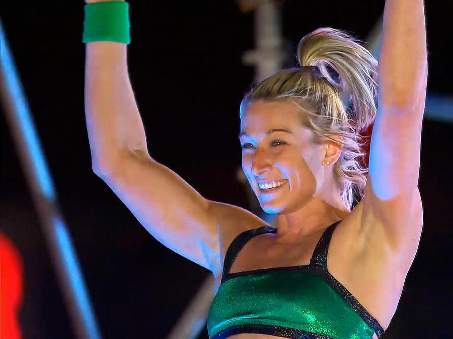 Jessie Graff en American Ninja Warrior
