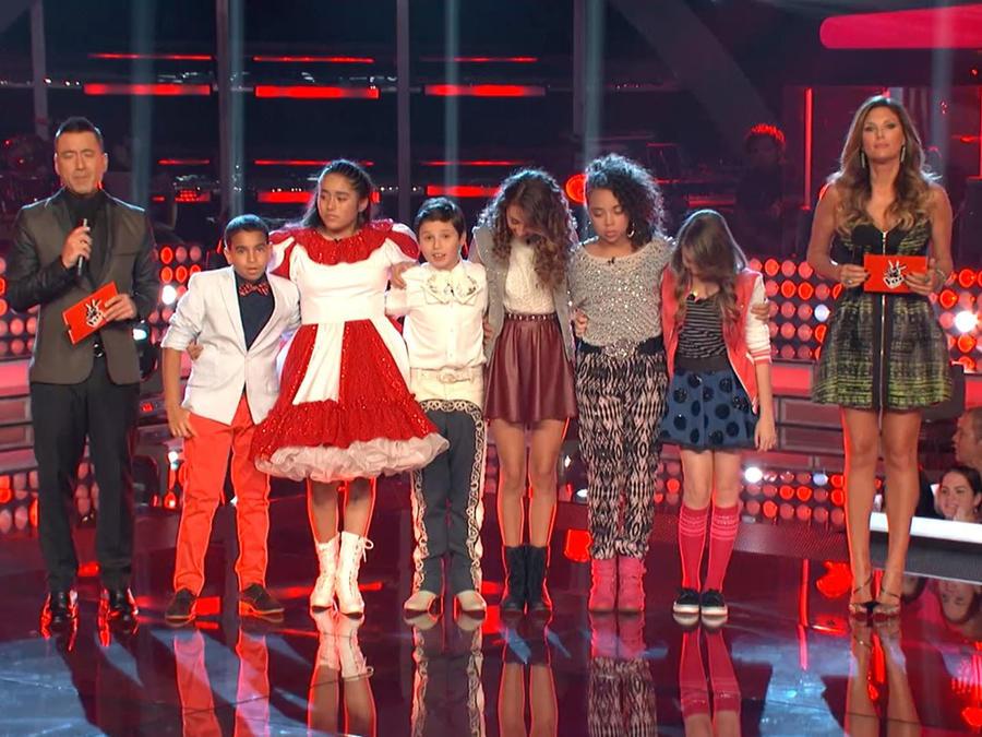 Team Royce en los shows en vivo de La Voz Kids