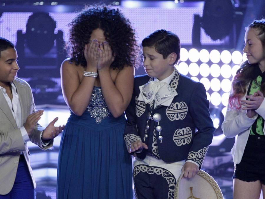 Team Royce en la semifinal de La Voz Kids