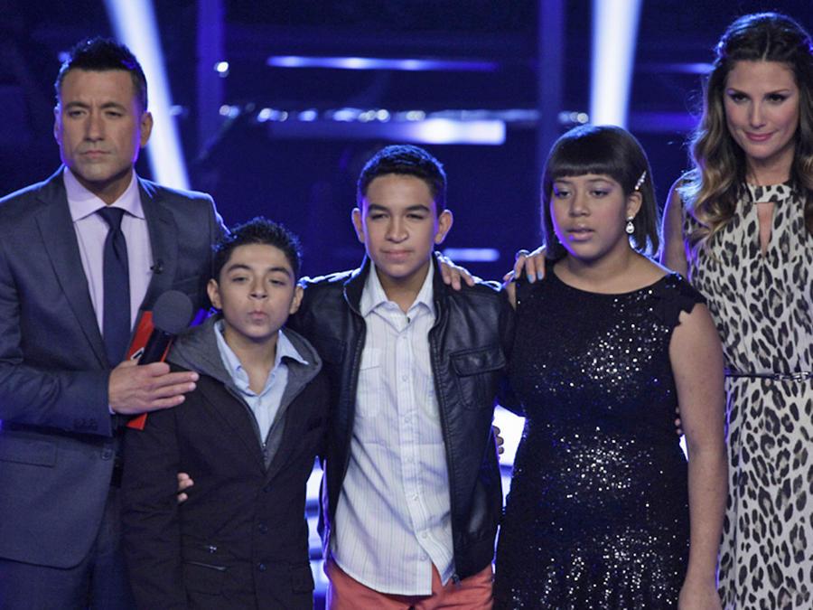 Team Tapia en la semifinal de La Voz Kids