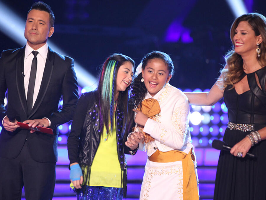 Team Rubio en la final de La Voz Kids