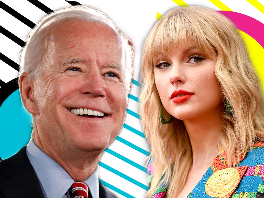 Joe Biden y Taylor Swift