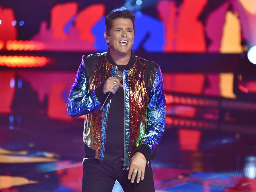 Carlos Vives en la final de La Voz US 2