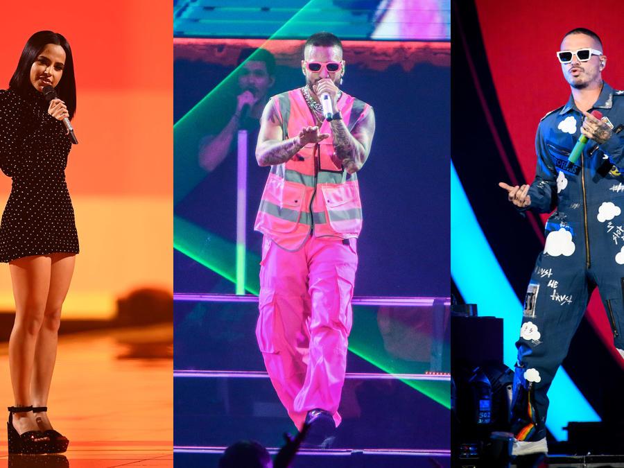 Los nombres reales de los reggaetoneros - Becky G, Maluma, J Balvin