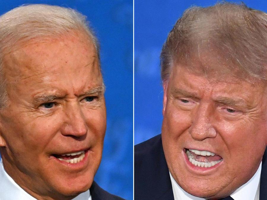 Trump vs Biden: primer debate