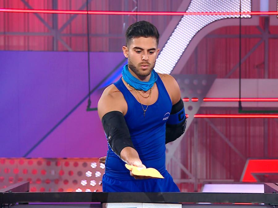 André Luis salva a Erika de la eliminación en El Domo del Dinero