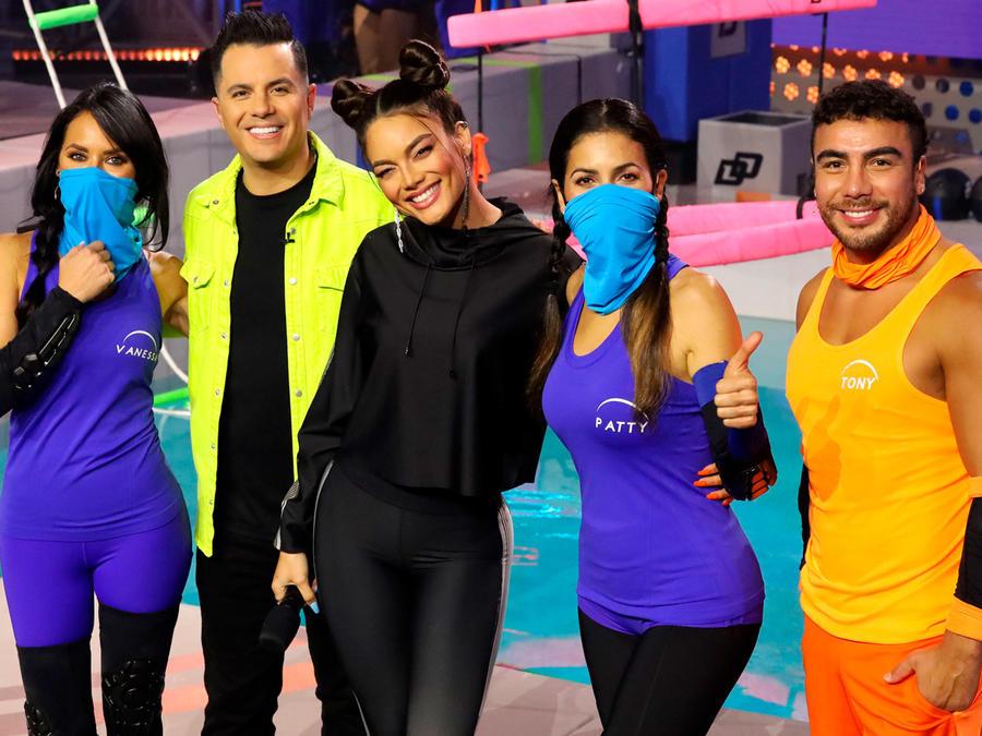 Vanessa, Karim, Zuleyka, Patty y Tony