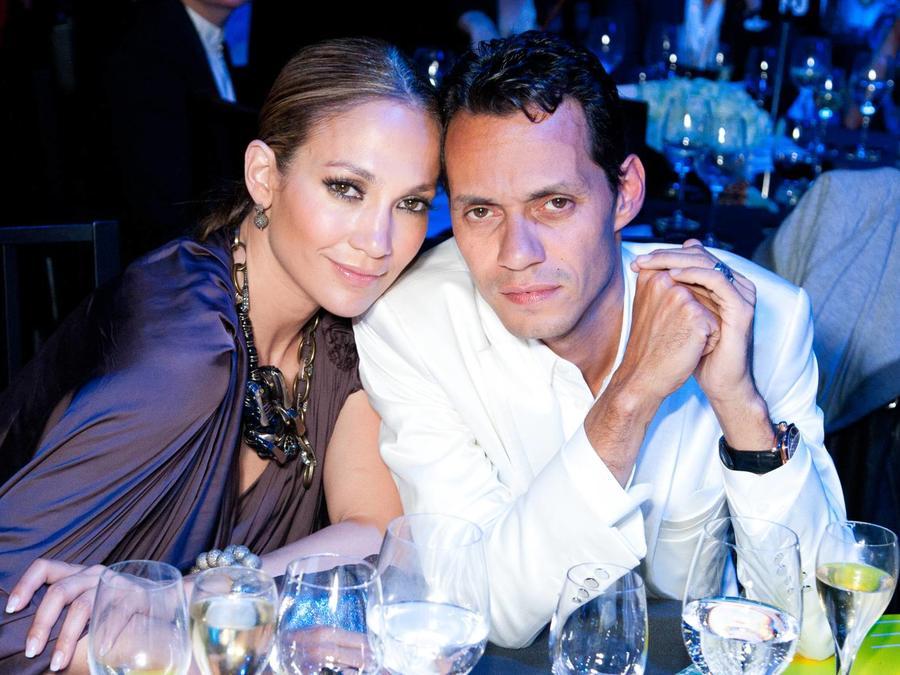 Jennifer Lopez y Marc Anthony, Neon Charity Gala 2010