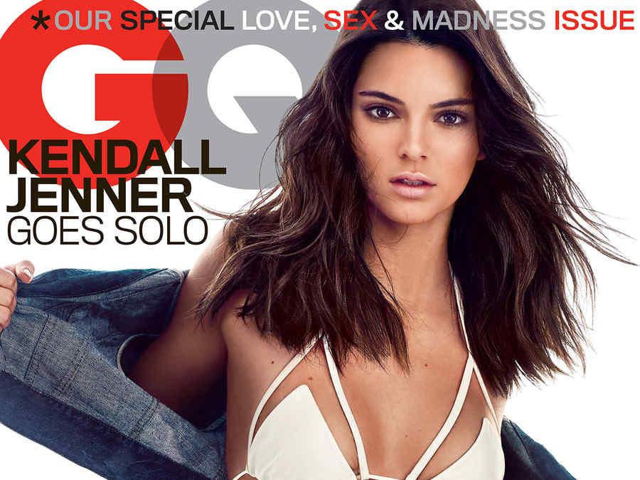 Kendall Jenner en la portada de la revista GQ