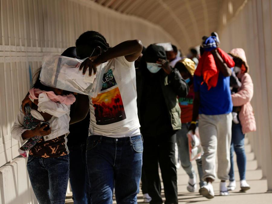 Migrantes de Haití.