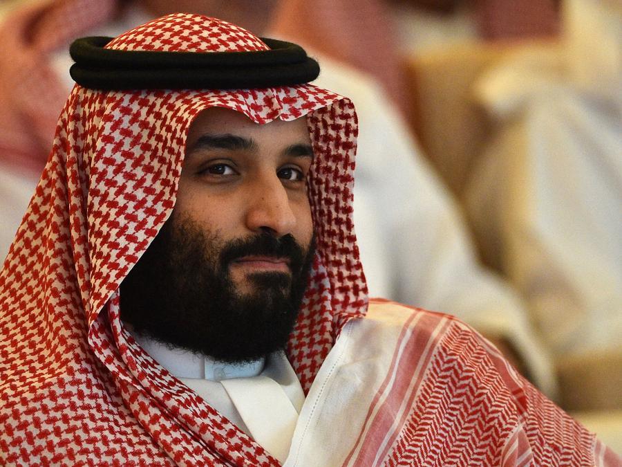 El príncipe heredero de Arabia Saudita, Mohammed bin Salman