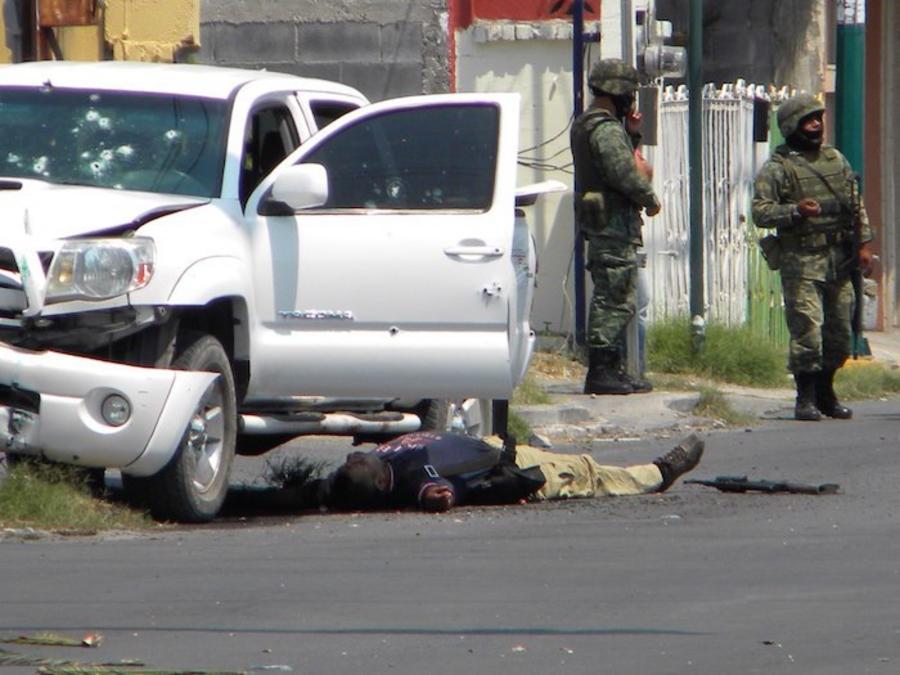 Nuevo Laredo, Tamaulipas, es escenario frecuente de choques entre grupos delincuenciales y fuerzas armadas. La violencia se ha recrudecido en municipios de la frontera con EU.