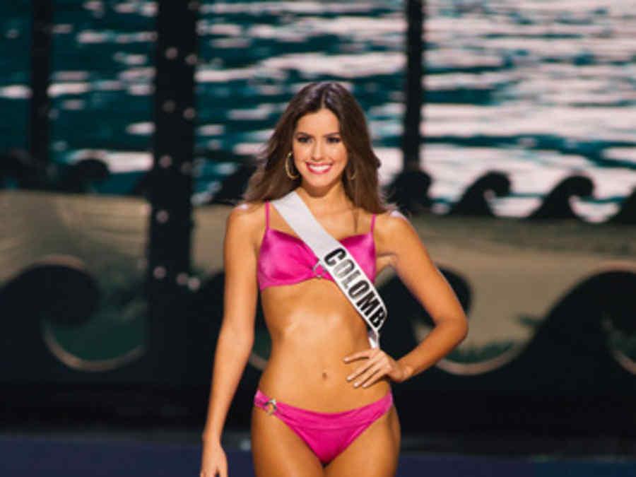 Paulina Vega, Miss Universe 2014, in Yamamay bikini